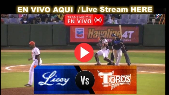 En Vivo: Toros del Este vs Tigres del Licey – Estadio Quisqueya #SerieFinal2020