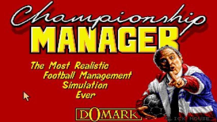 Championship Manager 92 - prima ediție din cadrul seriei ulterior cunoscute drept Football Manager