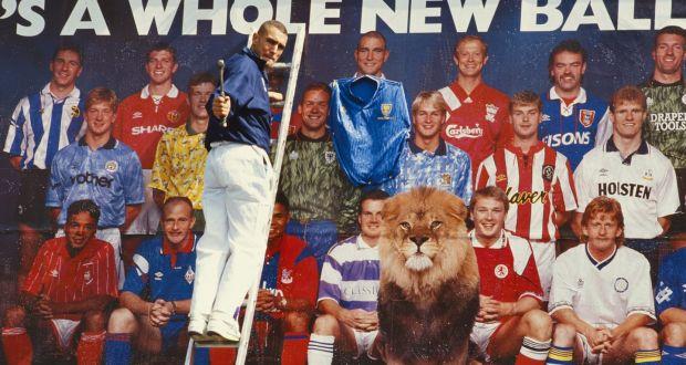 Vinne Jones partcipând la o campanie promoțională pentru premier League