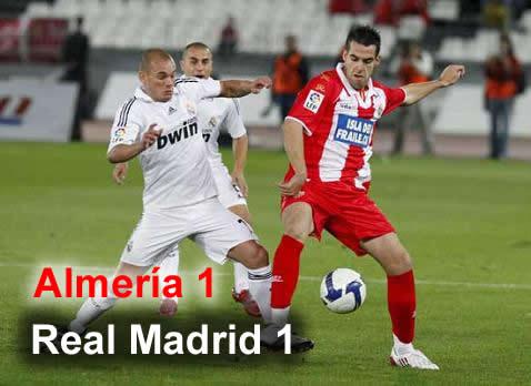 REAL MADRID vs ALMERIA