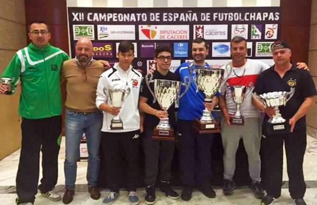 Podium XII CE Cáceres 2016