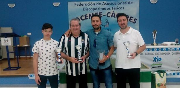 Cuadro Honor Campeonato Extremadura 2015