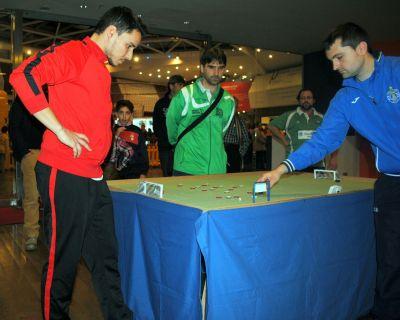 Arturo y Jose durante la Final