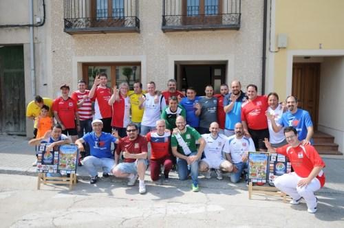 Todos los participantes de la EuroChapas Turégano 2016