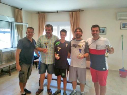 Cuadro de Honor del Torneo de Yebes organizado por David Ruiz
