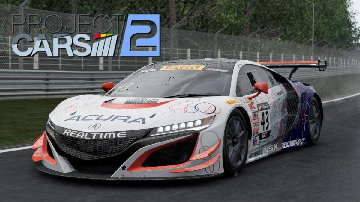 Inscrição Plataforma PC - Project Cars 2 Categoria Junior GT3
