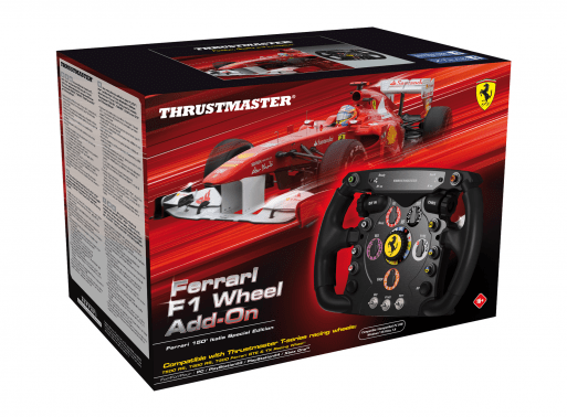 Ferrari F1 ADD-ON Thrustmaster - Playstation, Xbox one e PC
