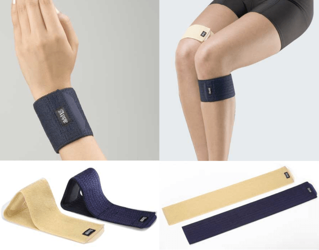 手首・膝の関節サポーター