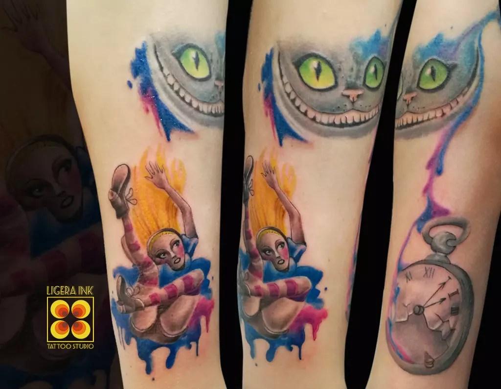 Tatuaggio Stregatto Immagini E Significato Ligera Ink