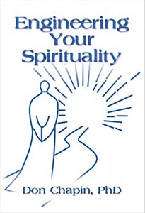 image showing cover of the book, Engineering Your Spirituality, by Don Chapin