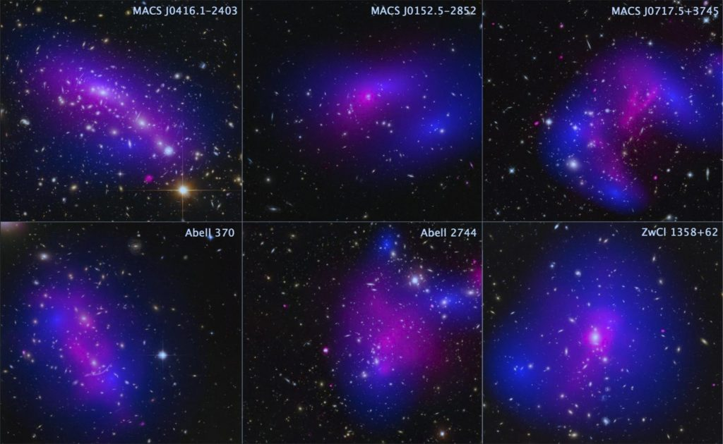 Scientists call out Dark Matter - Illustration - NASA photo showing that space is not empty but filled with dark matter