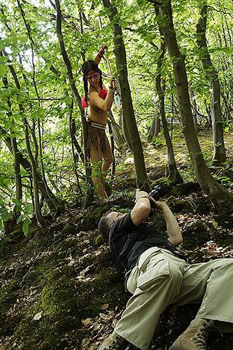 Making of 079 - Pocahontas-Shooting-- funny making of - status, outdoor, fototips, abseits-des-alltags - outdoor, Making of, funstuff, Fun, Frauen, Ein Tag im Leben eines Fotografens, Draußen, Die Geschichte hinter den Fotos