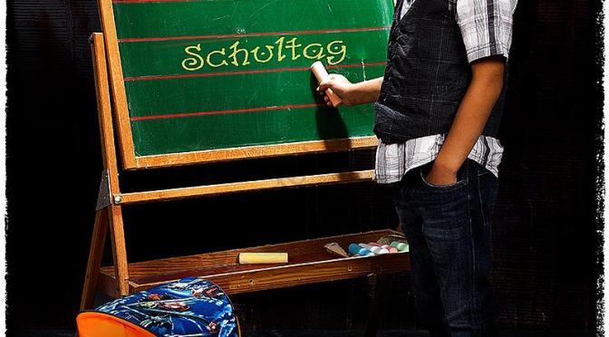 Schultüte & Ranzen…. Einschulungsfotos