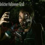 Halloweengruß 1 - Winterwonderland - im Studio - rund-um-rodenbach, portraets, besondere-portraets, abseits-des-alltags - Porträts, Glamour, Frauen, besondere Porträts