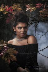 Herbststimmung, Porträts, Herbst, inzenierte Studiofotos,, Herbststimmung im Studio, Fotostudio Light-Style`s Blog