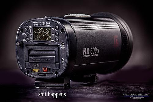 Reparatur Jinbei HD600 II – Empfehlung