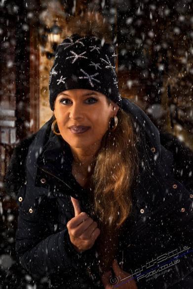 winterliche Porträts, Winterwonderland – im Studio, Fotostudio Light-Style`s Blog