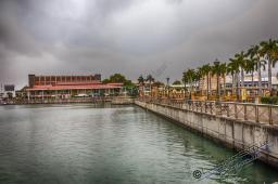 Zyklon vorraus, ideal um die Hauptstadt Port Louis zu erkunden