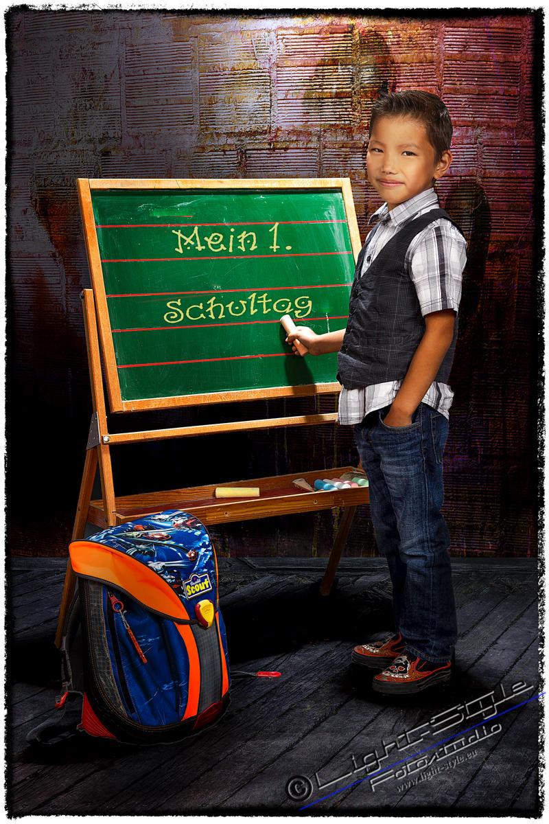 Justins 1. Schultag - Einschulung 2020 - rund-um-rodenbach, kinder, einschulungsfotos, besondere-portraets, allgemein - Schulfotos, Porträts, Kinderporträts, Kinder, Einschulung