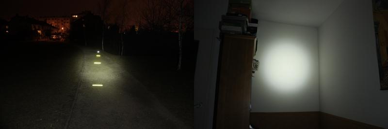 fenix HP01 - 105 lumens
