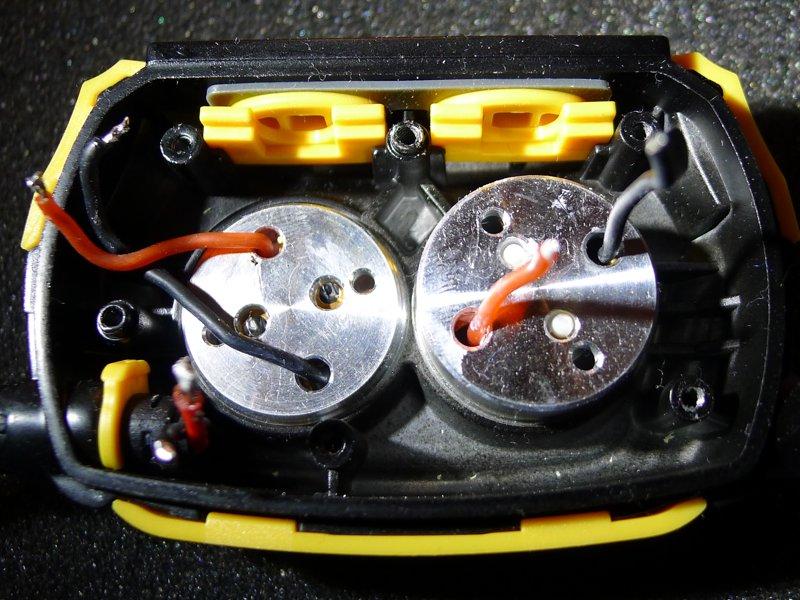 Fenix HP25 - inside the headlamp ;)