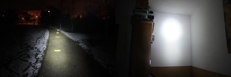 Petzl Tikka RXP - constant spot mode, 150 lumens