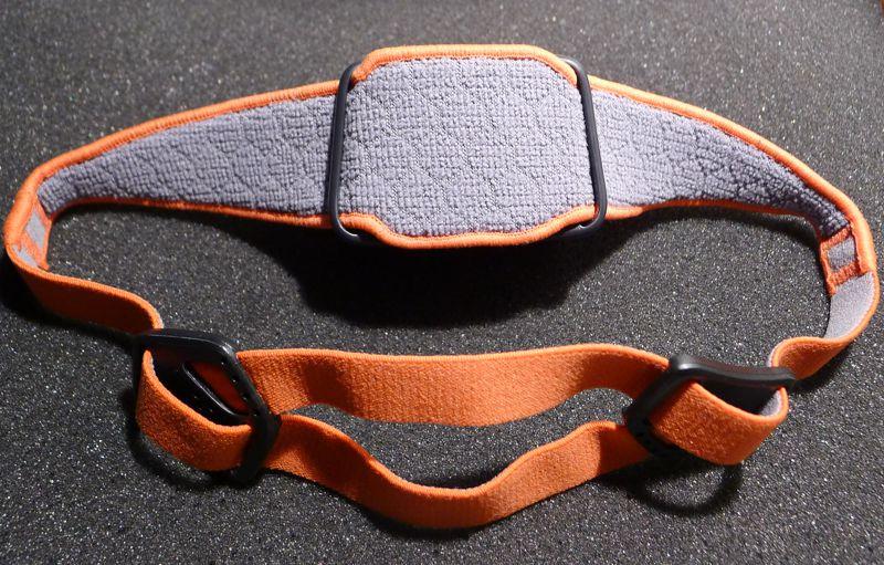 Petzl Tikka R+ head strap