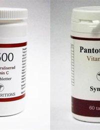 Paket: C-500 + B5 Pantotensyra