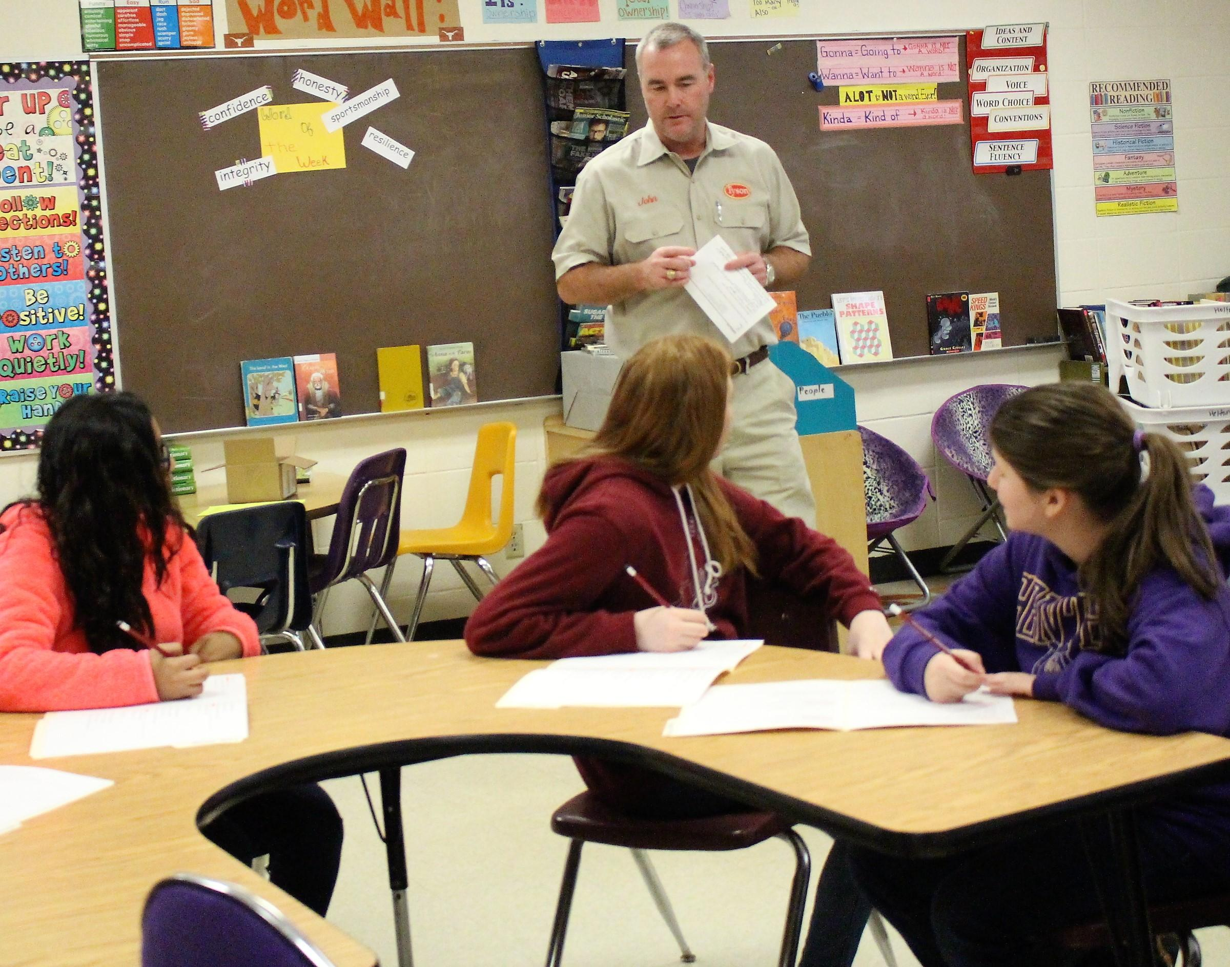 Center Middle School Eighth Grade Career Day