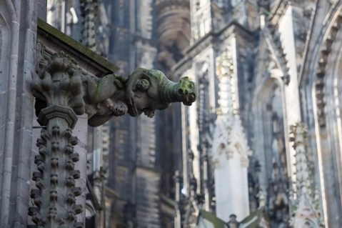 The Köln Dom has some great gargoyles.