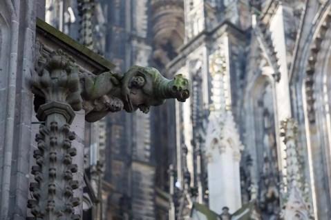 The Köln Dom has some great gargoyles.