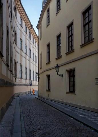 Prague Street Cleaner