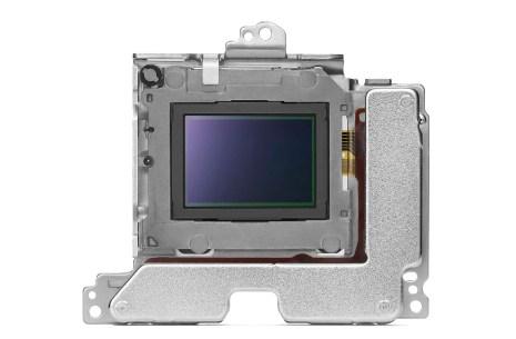The Sony a6500 stabilization module
