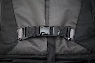 The lower strap, attached.