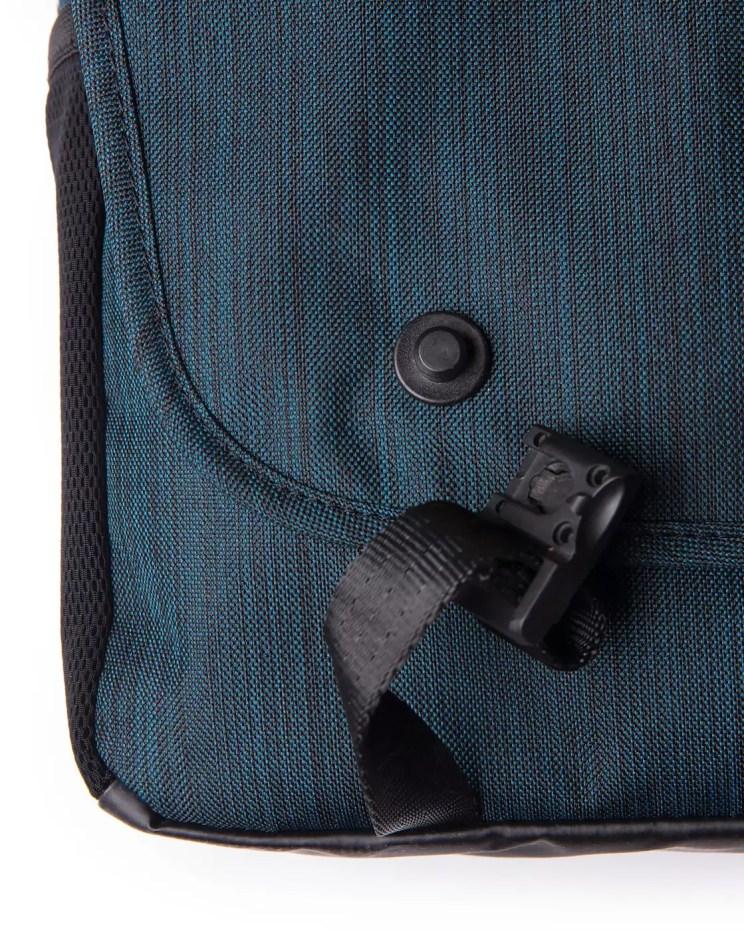 Front flap clasps