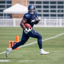 Chris Carson has been having a standout camp.