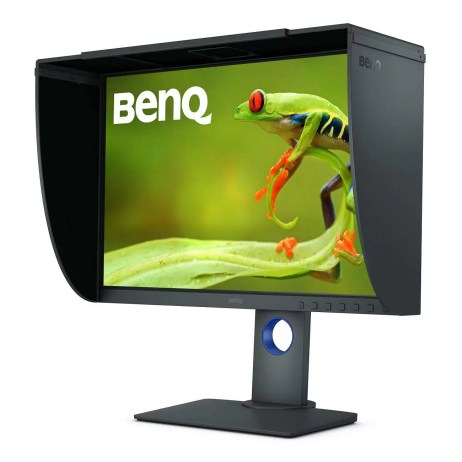 BenQ SW240 With Hood Shade