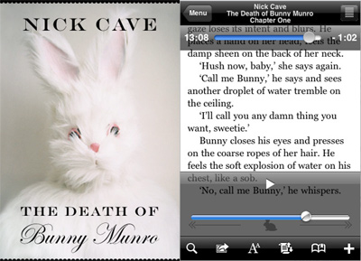 Nick Cave Iphone app