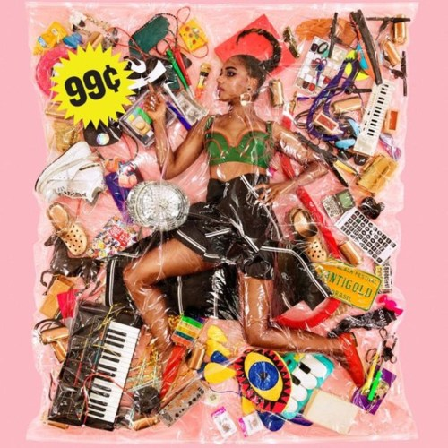 """עטיפת האלבום החדש של סנטיגולד - """"99¢"""""""