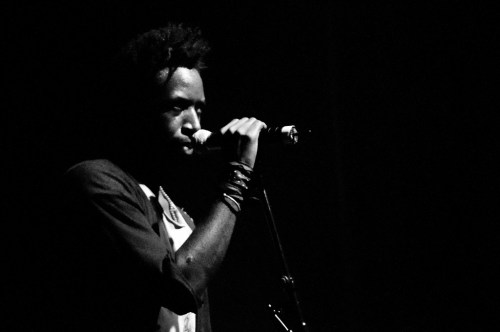 Saul Williams. צילום: Very Quiet
