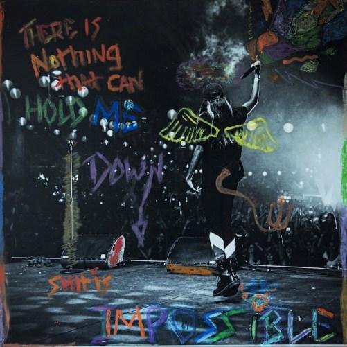 """עטיפת הסינגל """"Impossible"""" של איינג'ל הייז"""