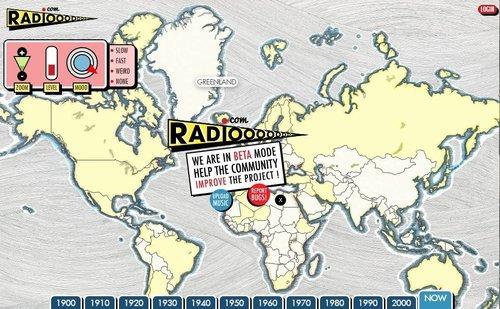 רדיו מכל העולם. Radiooooo