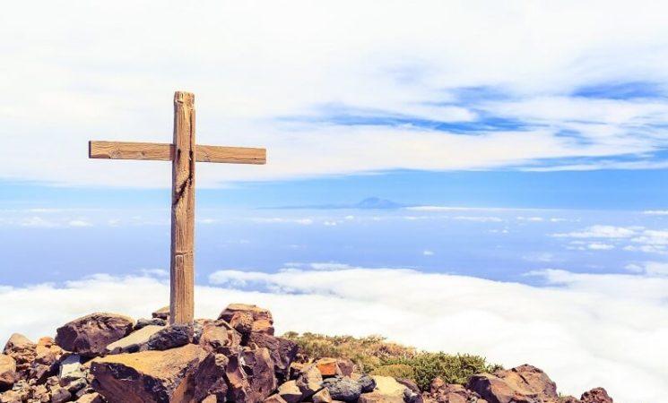 صلاة للصليب المقدس حجاب قبر المخلص الإلهي