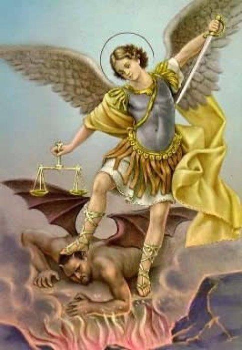 صلاة، طرد الارواح الشريرة، ملائكة، سماء، مسيحية