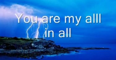 You are my all in all - Natalie Grant