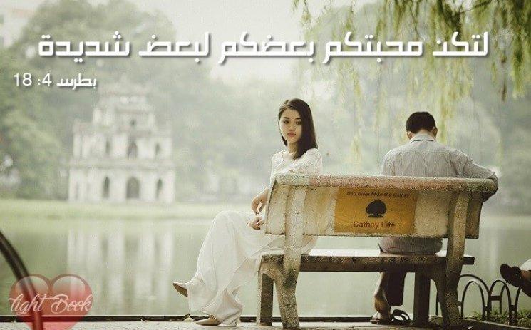 Bible Verses aboutLove ( 2 ) (English-Arabic)