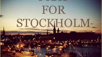 Photo of Pray For Stockholm; Bönen steg mot himlen i Stockholm