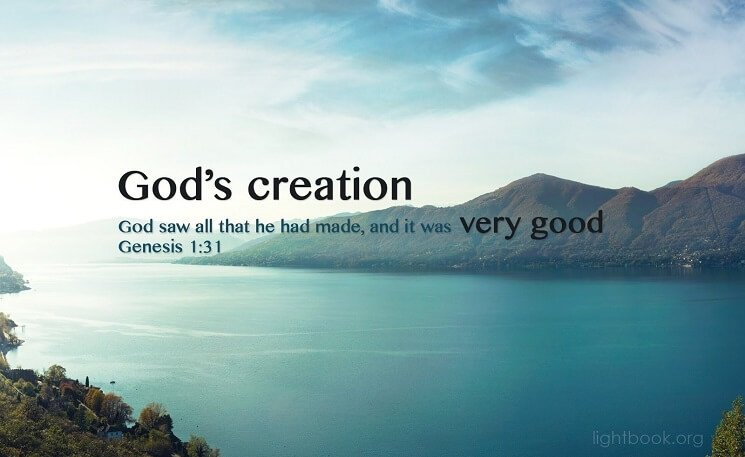Bible Verses aboutCreation ( 2 ) in English and Arabic
