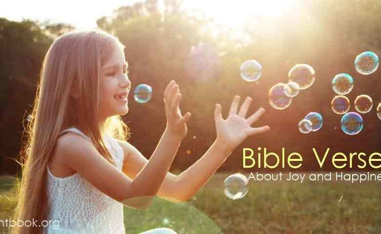 Bible Verses about Joy and Happiness in English and Arabic