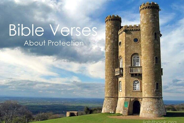 Bible Verses about Protection in English and Arabic